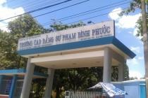 Gói thầu trường CĐSP tỉnh Bình Phước, T8-2015