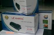 Mực Laser Lê Khang 12A - ISO 9001, 14001